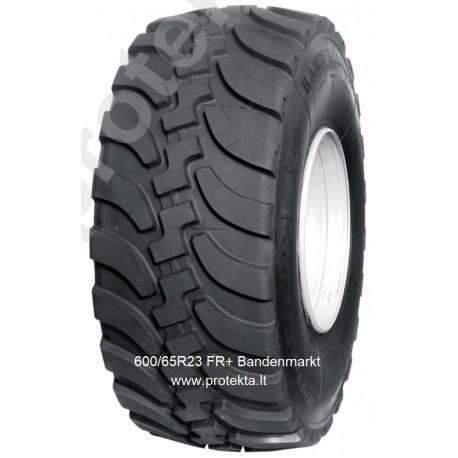 Tyre 600/65R23 FR+ Bandenmarkt 184A8/180D TL