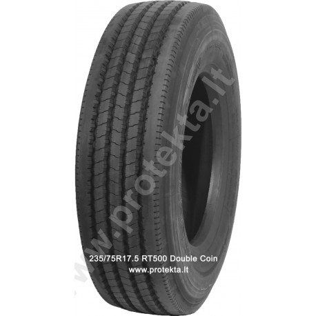 Tyre 235/75R17.5 RT500 Double Coin 18PR 143/141L TL (tr.)