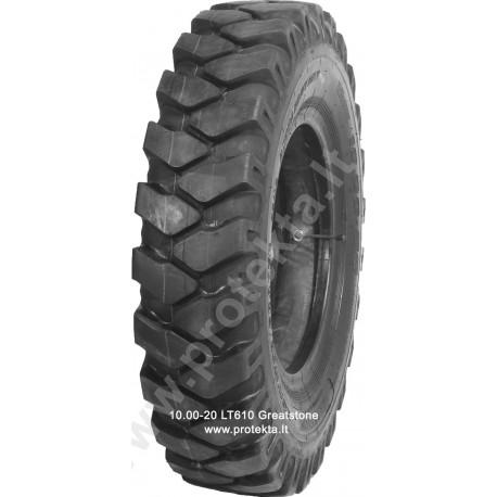 Tyre 10.00-20 LT610 Excavator Greatstone 16PR 146A5 TTF