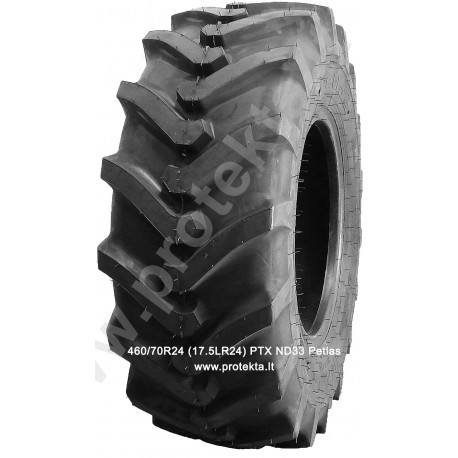Tyre 460/70R24 (17.5LR24) PTX ND33 Petlas 159A8 TL