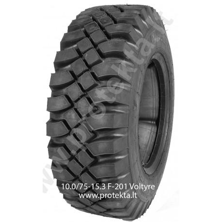 Tyre 10.0/75-15.3 F-201 Voltyre 10PR 123A6 TT (ind.)