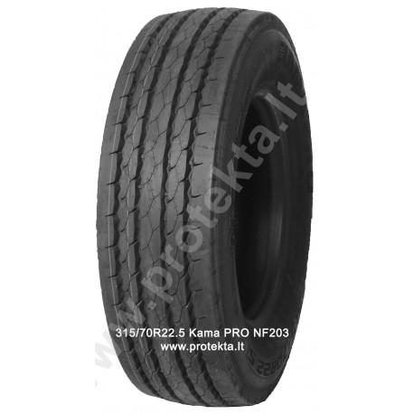 Tyre 315/70R22.5 KAMA PRO NF203 156/150L TL M+S