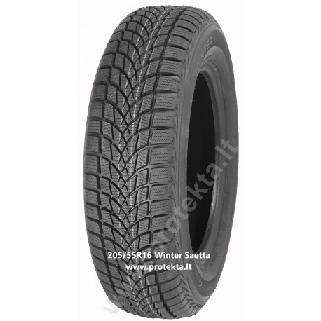 Padanga 205/55R16 91H Winter Saetta TL (Bridgestone) M+S