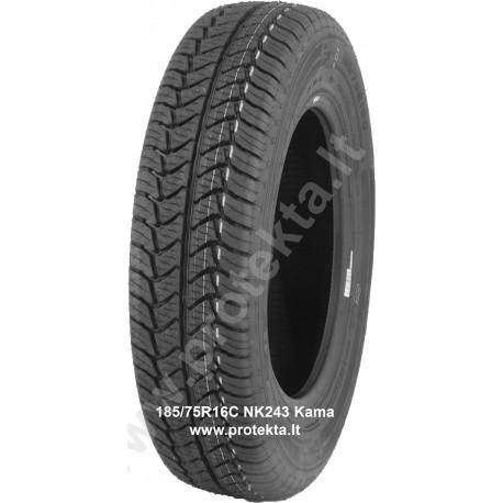 Tyre 185/75R16C HK-243 Kama TL M+S