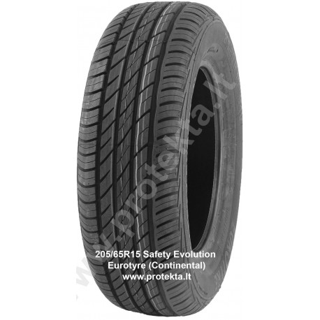 Tyre 205/65R15 Safety Evolution Eurotyre (Continental) 94V TL