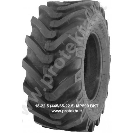 Tyre 18-22.5 (445/65-22.5) MP590 BKT 16PR 163A8 TL (ind.egl.)