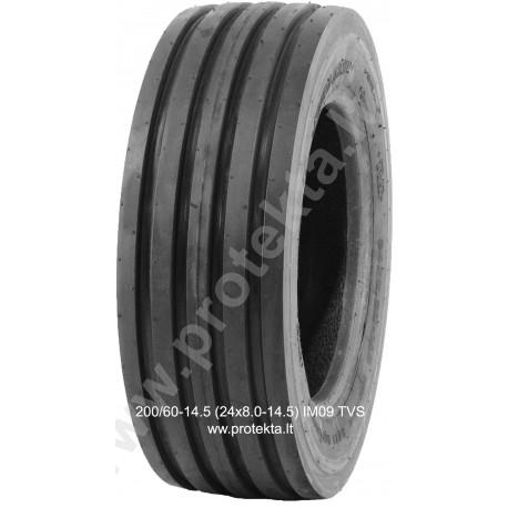 Tyre 200/60-14.5 (24X8.0-14.5) IM09 TVS 10PR 106A8 TL