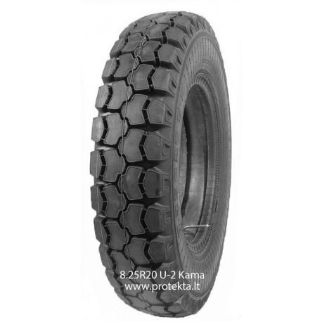 Tyre 8.25R20 U2 Kama 10PR 125/122J TTF M+S