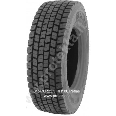 Tyre 315/70R22.5 RH100 Petlas 154/150L TL