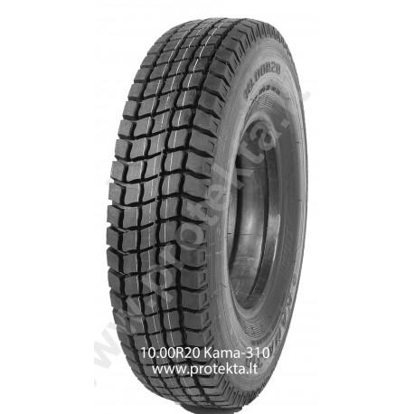 Tyre 10.00R20 Kama310 16PR 146/143K TTF M+S