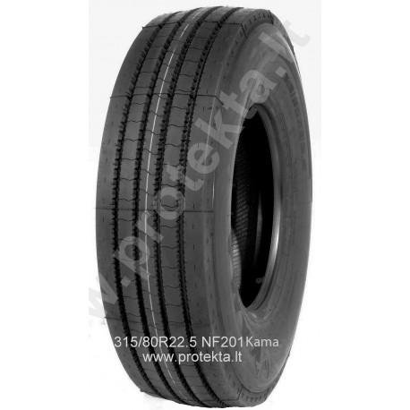 Tyre 315/80R22.5 NF-201 Kama CMK 156/150L TL
