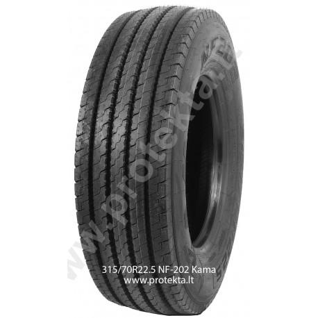Tyre 315/70R22.5 NF202 Kama CMK 154/150L TL M+S