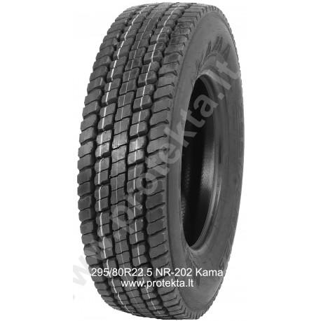 Tyre 295/80R22.5 NR202 Kama 152/148M TL M+S 3PMSF