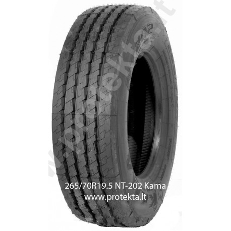 Tyre 265/70R19.5 NT202 Kama CMK 143/141J TL M+S