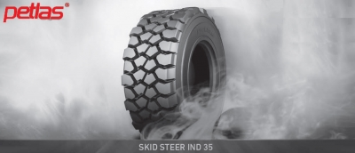 New Petlas tyre for skid steer